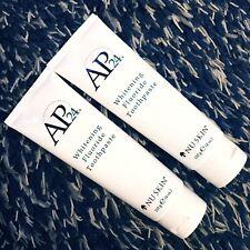Nu Skin Nuskin AP-24 Whitening Fluoride Toothpaste Prevent Cavities & Plaque x 2
