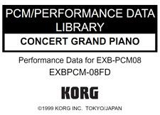 KORG EXB-PCM08 CONCERT GRAND PIANO Factory Preload Disk Triton EXB PCM-08FD