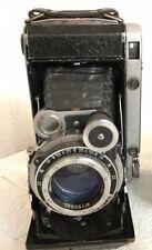 MOSKVA 5 Moscov 5 type 2b Vintage USSR folding camera Lens Industar-24 И