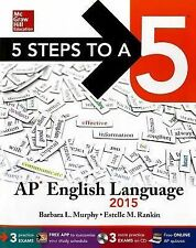 5 Steps to a 5 AP English Language with CD-ROM, 2015 Edition (5 Steps to a 5 on