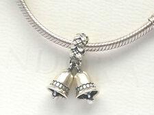 Autentico Pandora Argento campane ciondolo charm 791230