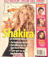 People Espanol Magazine Shakira Ricky Martin December 2008 NO ML 072717nonrh2
