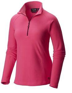 Mountain Hardwear Women's Microchill Zip T Pullover Fleece
