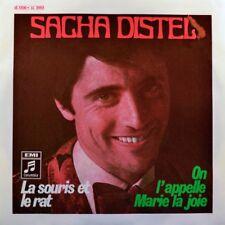 """7"""" SACHA DISTEL La souris et le rat / On l'apelle Marie la COLUMBIA Chanson 1969"""