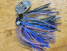 3 pack of 3/8oz Bluegill Ultra Vibra jigs with 5/0 black nickel Eagle Claw