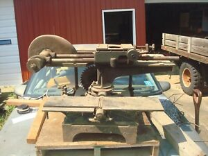 Cresson-Morris 20th Century Woodworker vintage combo-tool table saw, jointer NR