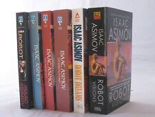 I, Robot Chronicles by Isaac Asimov 6-Book Series Set of Mass Market Paperbacks