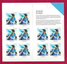 2014  Canada  63c # 2707   BK 574     SARAH BURKE    Post Ofice Fresh New