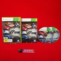 The Crew - Microsoft Xbox 360 PAL Game Complete *BellaRoseCollectables*