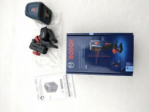 BOSCH GLL2 Self-Leveling Cross-Line Laser 30' complete in box pre-owned