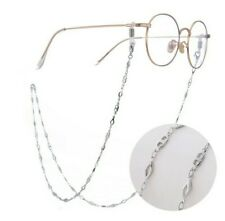1x Brass Eyeglasses chain neck lanyard reading glasses sunglasses opt fashion