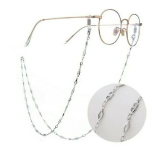 1x Brass Eyeglasses chain neck lanyard reading glasses sunglasses opt fashion