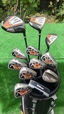 Mens RH Wilson X31 Full Golf Clubs Package Set Callaway Wedge ⛳️ VGC Irons Wooda