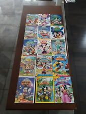 Disney Mickey Mouse Clubhouse DVD Lot Of 15 Used Donald Duck Goofey