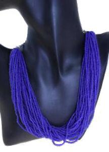 Glaskette Collana di Perle Collana IN Vetro Collier Perle Collier Tedesco