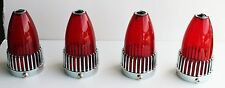 FOUR 1959 Cadillac Red Blue Dot tail lights 59 Caddy NEW FREE SHIPPING