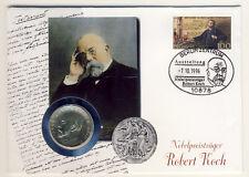DDR - Numisbrief mit 5 Mark 1968 - ROBERT KOCH - ANSCHAUEN (11018/81N)