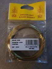 Salix Brass Wire 0.8mm 6mtrs