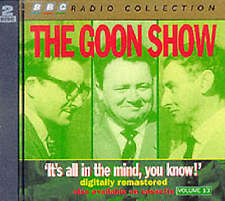 THE GOON SHOW - IT'S ALL IN THE MIND YOU KNOW - VOLUME 13 - NEW/SEALED