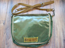 Vintage Karrimor shoulder bag handle bar Green Made in UK Bushcraft Fishing Hunt