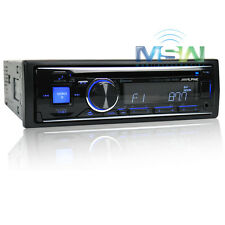 *NEW* ALPINE CDE-143BT SINGLE DIN IN-DASH CAR STEREO CD RECEIVER w/ BLUETOOTH