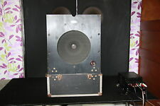 "One Piece of 12"" Zeiss Bauer Klangfilm Alnico speakers with huge magnetico Cabinet"