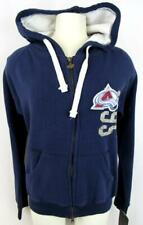 Colorado Avalanche Womens Small or Medium Full Zip Hooded Sweatshirt ACAV 59