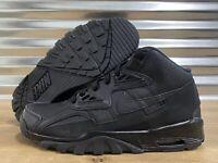 Nike Air Trainer SC Bo Jackson Shoes GS Triple Black Youth SZ ( CJ0580-002 )