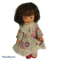 💛 Vintage LITTLE MATILDA DOLL - Original Clothes & Shoes - Playmates - 16cm