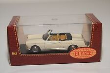 . ELYSEE ELY561 PEUGEOT 404 CABRIOLET 1966 IVOIRE CREAM MINT BOXED RARE