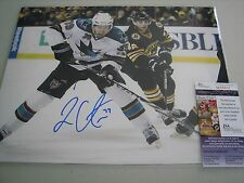 Logan Couture Autographed 11x14 Photo JSA