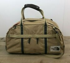 New THE NORTH FACE Berkeley Duffel Bag Gym Carry On Small Tan Brown