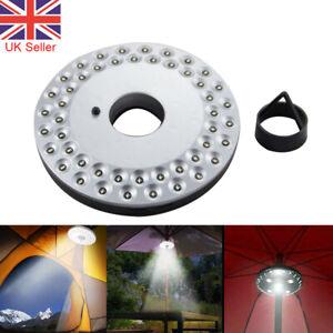 24/48 28 LED Garden Umbrella Lights Outdoor Patio Parasol Lamps Brightness Mode