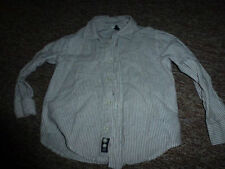 Linen Blend Long Sleeve Striped Shirts (2-16 Years) for Boys