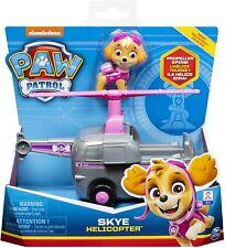 Paw Patrol Jeu enfant Véhicule hélicoptère et Figurine Stella La Pat' Patrouille