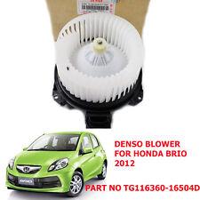 GENUINE TG116360-16504D DENSO BLOWER MOTOR FOR HONDA BRIO 2012