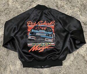 Vintage Dale Earnhardt Black Magic Windbreaker Jacket Size XL Auburn Sportswear