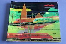X247 MARKLIN Train catalogueHo 1987 1988 178 pages 26,5*22 cm F