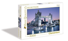 Clementoni 33527.5 Jigsaw puzzle 3000 Tower Bridge London torre Londres regalo