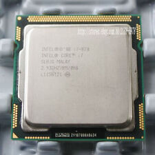 Intel Core i7-870 Quad core 2.93 Ghz 8 M Cache Socket 1156 slbjg CPU Processor
