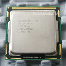 Intel Core i7-870 Quad Core 2.93 GHZ 8M Cache Socket 1156 SLBJG CPU Processor