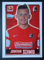 Topps 89 Fussball BL 2014/15 Jonathan Schmid SC Freiburg