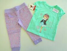 New Lot of 2 Frozen Pants Disney & Place Daddy's Snow Princess Sz 2T Power Girls