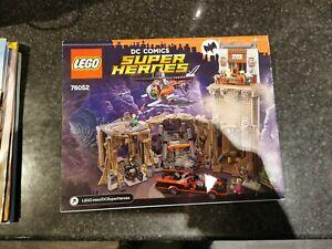 LEGO 76052 DC Comics Super Heroes Batman Batcave with mr freeze minifigure