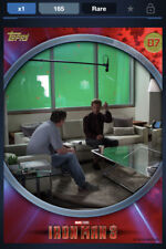 Topps Marvel Collect DIGITAL IRON MAN 3 BEHIND THE SCENES - ID #4651 165CC