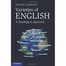 Varieties English Peter Siemund Paperback Cambridge University Pr. 9780521186933