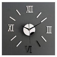 Fashion Home DIY Wall Clock Self Adhesive Interior Creative Decoration Fad Gift