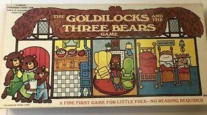 "Vintage Cadaco ""The Goldilocks and Three Bears"" Storybook Classic Game  1973"