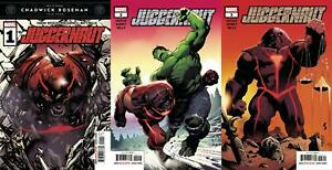 Juggernaut (#1, #2, #3 inc. Variants, 2020)