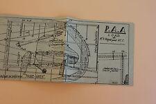 Plan avion blasa P.A.A load Mr R bagot pour V.C.C. P1021